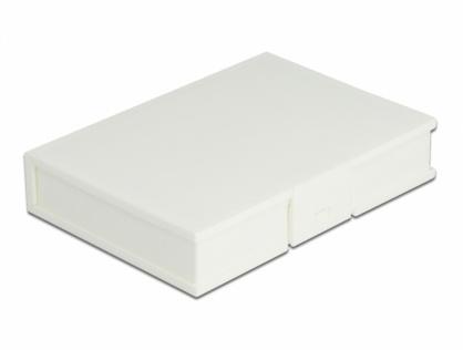 """Carcasa de protectie pentru HDD / SSD 3.5"""" Alb, Delock 18371"""