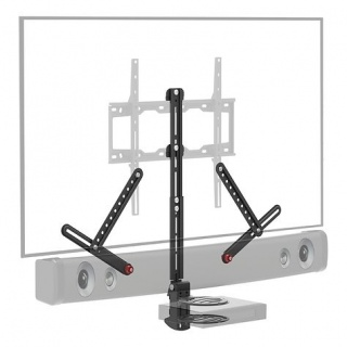 Suport pentru soundbar max. 6.5kg + raft, Barkan E850