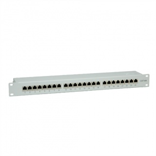 "Patch Panel 19"" STP Cat.6A 24 porturi gri, Value 26.99.0361-5"