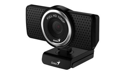 Camera web ECam 8000 cu microfon Full HD, Genius