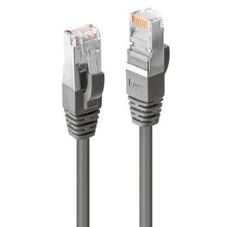 Cablu de retea CROMO Cat.6 S/FTP 1m Gri, Lindy L47212