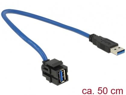 Keystone USB 3.0 250 grade T-M 0.5m, Delock 86375