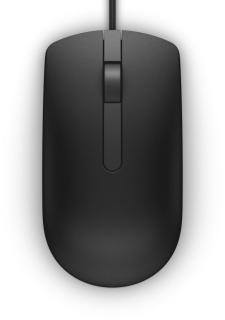 Mouse MS116 USB Negru, Dell 570-AAIR
