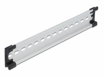 """Sina DIN din aluminiu 35 x 7.5 mm (10""""), Delock 66172"""