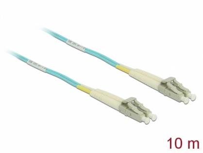 Cablu fibra optica LC- LC Multi-mode OM3 10m, Delock 86562