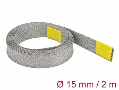 Plasa pentru organizarea cablurilor EMC 2m x 15 mm, Delock 20789