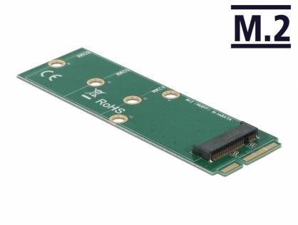 Adaptor mSATA la M.2 Key B slot, Delock 64109