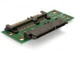 Adaptor Extensie SATA 22 pini T - M, Delock 65092