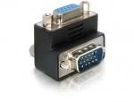 Adaptor VGA M-T unghi 90, Delock 65171