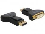 Adaptor DisplayPort la DVI 24+5 pini pasiv T-M, Delock 65257