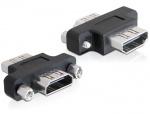 Adaptor HDMI A M - M, Delock 65313