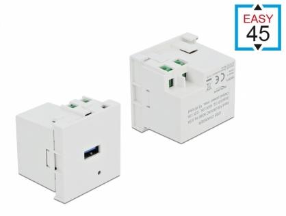 Modul Easy 45 de incarcare cu 1 x USB-A, Delock 81311