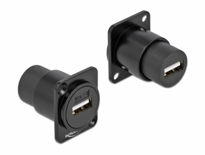 Modul D-type USB 2.0-A M-M, Delock 86784