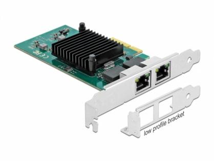Placa PCI Express la 2 x Gigabit LAN Intel 82576, Delock 89021