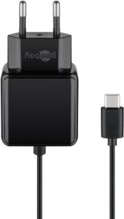 Incarcator priza 1 x USB-C 1.5m 3A/15W, Goobay G45040