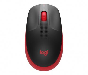 Mouse wireless Negru/Rosu, LOGITECH 910-005908