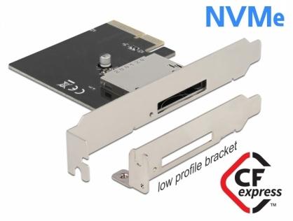 PCI Express cu 1 x CFexpress extern, Delock 91755