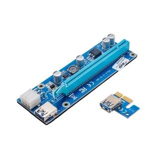 Riser PCI Express x1-x16 la USB 3.0, AK-CA-64
