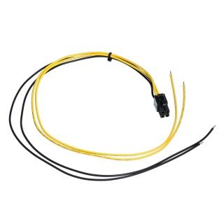 Cablu de alimentare PSU P4 la fire deschise 45cm, AK-SC-21