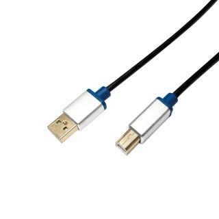 Cablu USB 2.0 pentru imprimanta la USB-B T-T 1.5m, Logilink BUAB215