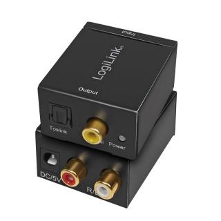 Convertor audio RCA Analog la Digital S/PDIF, Logilink CA0102