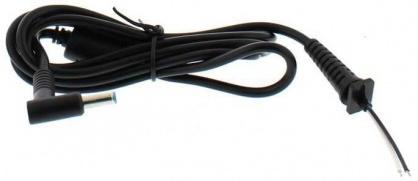 Cablu de alimentare DC HP 4.5 x 3.0mm 90W la fire deschise 1.2m, Well CABLE-DC-HP-4.5X3.0/LP
