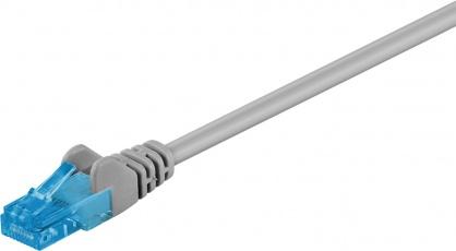 Cablu de retea RJ45 CAT 6A UTP 50m Gri, Goobay 55429