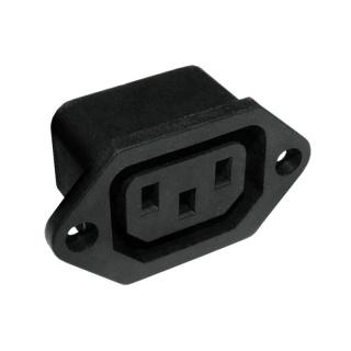 Conector de alimentare pentru lipit IEC C13 panou, GNI0123.1