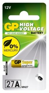 Baterie Super Alcalina 27A / 12V, GP Batteries
