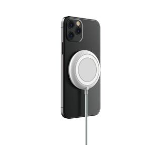 Incarcator wireless magnetic 3A 1m Alb, Devia