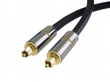 Cablu audio digital Toslink brodat 1m, kjtos7-1