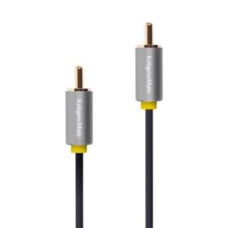 Cablu audio/video RCA la RCA T-T 1.8m, KM1202