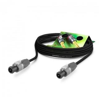 Cablu audio speakon 5m Negru, NEUTRIK ME25-225-0500-SW