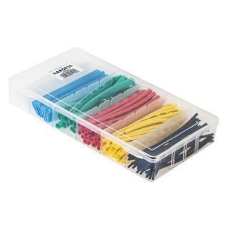 Set 100 buc tuburi termocontractabile Multicolor, NAR0832