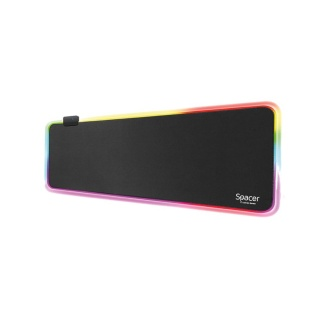 Mousepad Gaming RGB 900 x 300 x 3 mm, Spacer SP-PAD-GAME-RGB-B