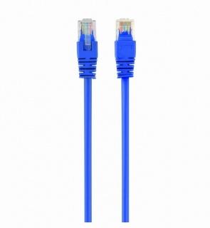 Cablu de retea RJ45 cat 5e UTP 0.25m Albastru, Spacer SP-PT-CAT5-0.25M-BL