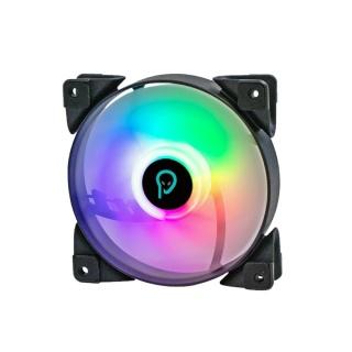 Ventilator RGB 120mm Hydraulic Bearing 4 pini, Spacer SPFC-120-4P-RGB