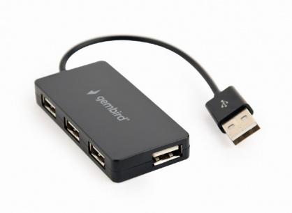 HUB USB 2.0 cu 4 porturi, Gembird UHB-U2P4-04