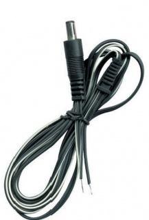 Cablu de alimentare DC 2.5x5.5mm la fire deschise 1.2m, URZ1201-2
