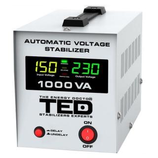 Stabilizator tensiune TED 1000VA-AVR cu LCD, A0112900