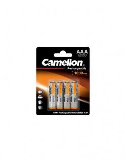 Blister 4 buc acumulatori AAA Ni-MH 1000mAh, Camelion