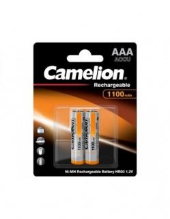 Set 2 acumulatori AAA R3 1100 mAh, Camelion NH-AAA1100BP2
