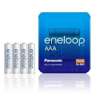 Set 4 acumulatori AAA 750 mAh, Eneloop BK-4MCCE/4LE