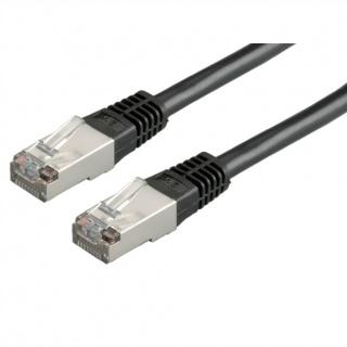 Cablu de retea cat. 5e FTP 20m Negru, Roline 21.15.0475