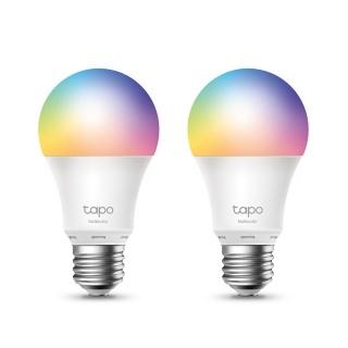 Set 2 becuri Smart Wi-Fi Multicolor, TP-LINK Tapo L530E(2-pack)
