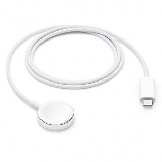Cablu de incarcare USB-C pentru Apple Watch 1m Alb, Apple MX2H2ZM/A