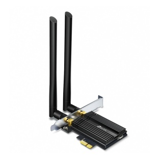 Adaptor PCI Express AX3000 Wi-Fi 6 Bluetooth 5.0, TP-LINK Archer TX50E