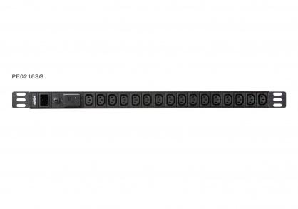 Prelungitor PDU 0U Basic C20 la 16 x C13, ATEN PE0216SG