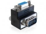 Adaptor VGA T - M unghi de 270 grade, Delock 65247