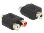 Adaptor audio stereo jack 3.5mm la 2 x RCA M-M, Delock 65515